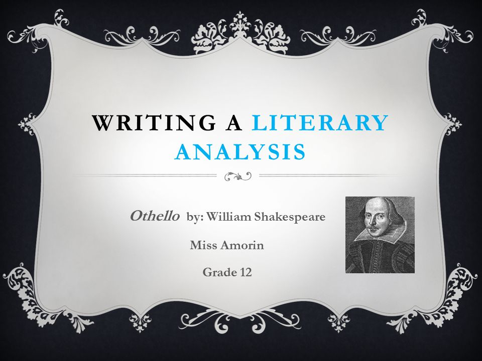 a literary analysis of othellos character in othello by william shakespeare Shakespeare, william, 1564–1616 othello : the moor of venice / by william shakespeare  with related readings p cm – (the emc masterpiece series access editions) isbn 0-8219-2956-9 1 othello (fictitious character)—drama 2 shakespeare, william, 1564-1616 othello 3 othello (fictitious character) 4 venice (italy)—drama 5 jealousy—drama 6.