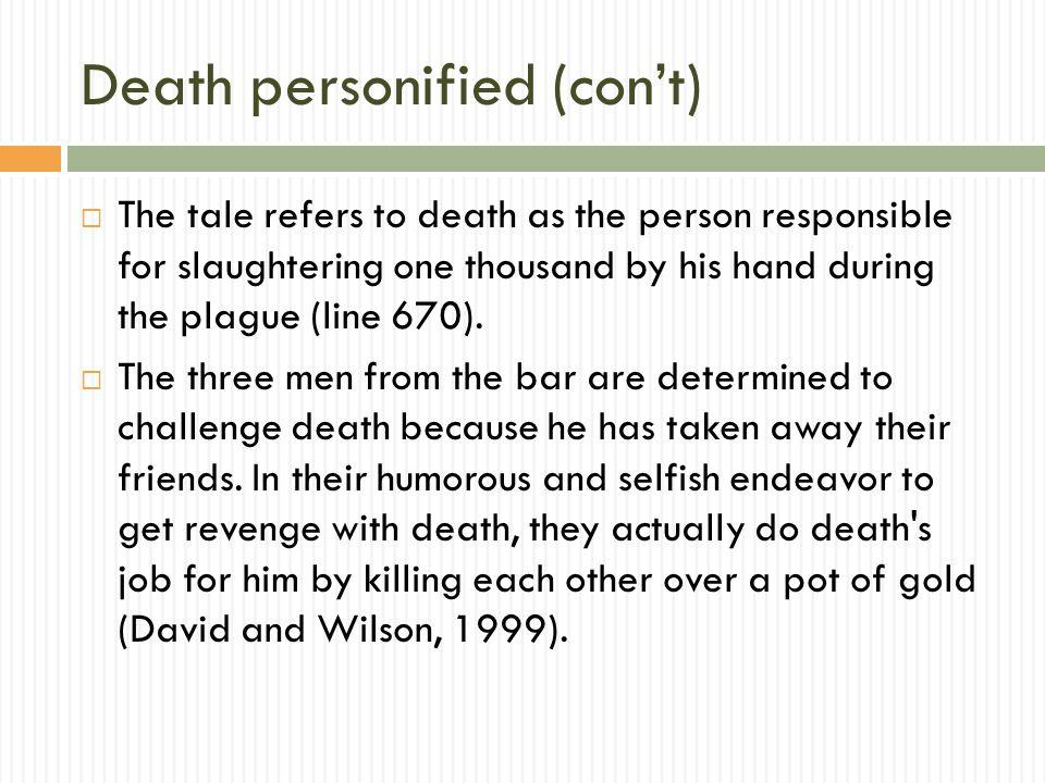 Death personified (con't)