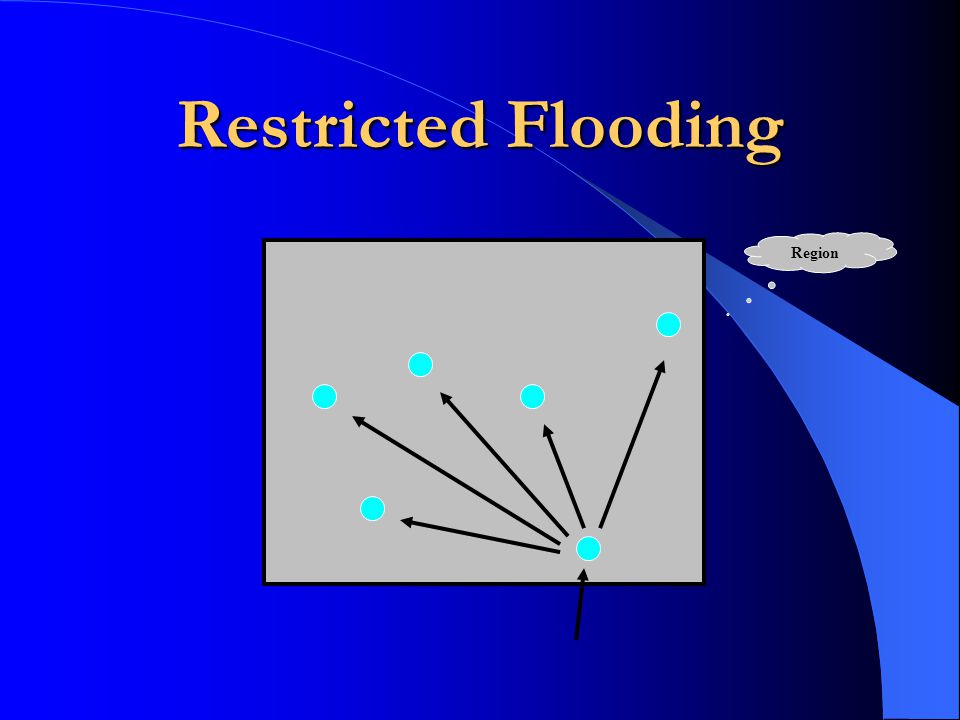 Restricted Flooding Region