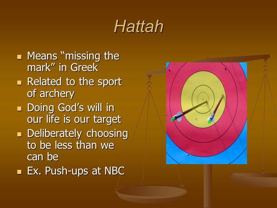 Hattah Means missing the mark in Greek