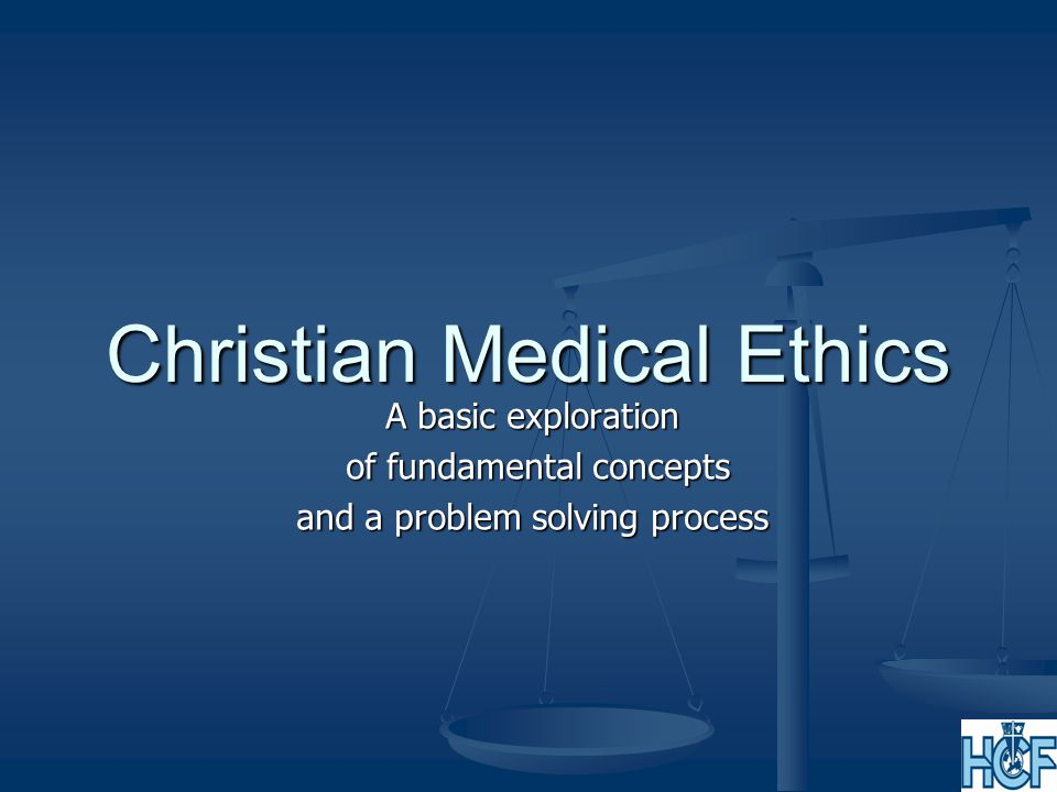 The basis for Christian ethics