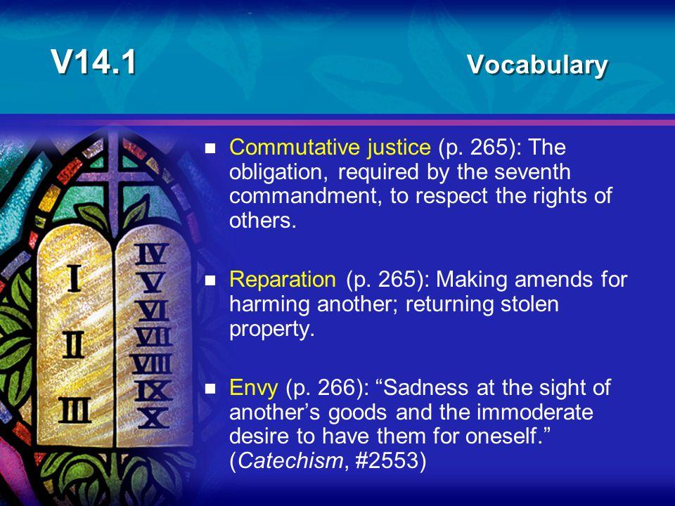 V14.1 Vocabulary