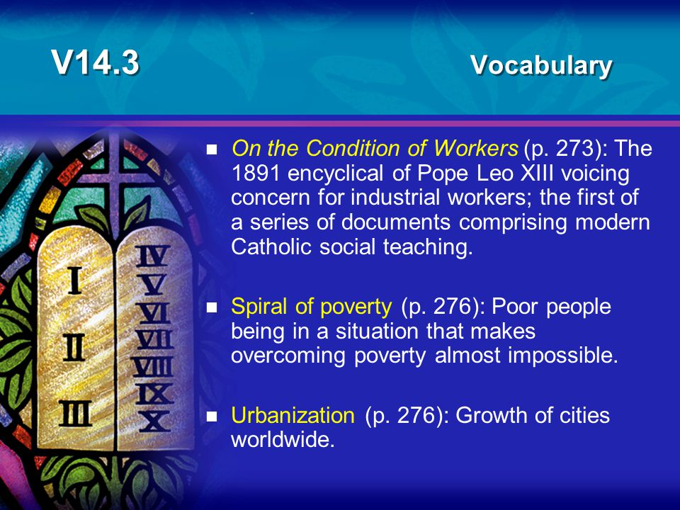 V14.3 Vocabulary