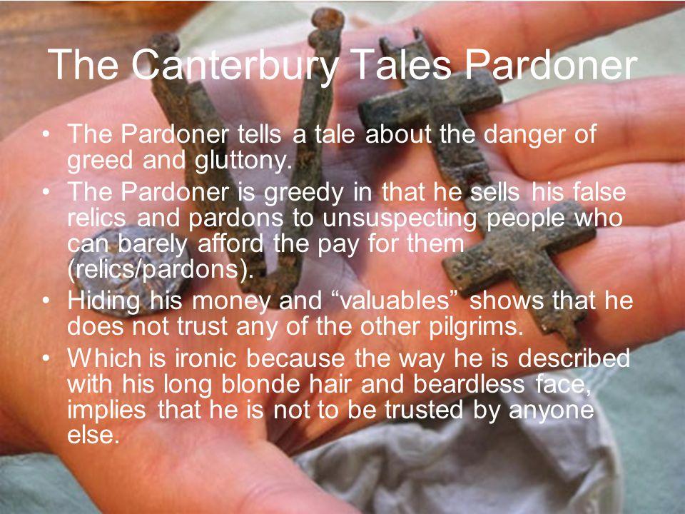 The Canterbury Tales Pardoner