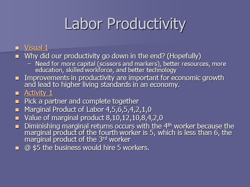 Labor Productivity Visual 1