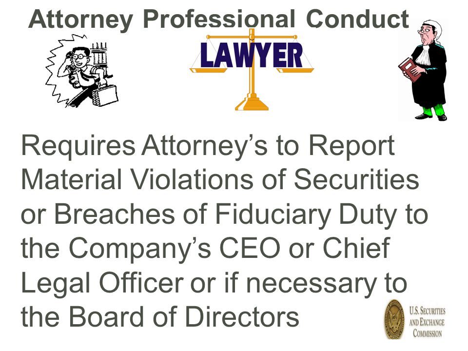 Attorney Professional Conduct