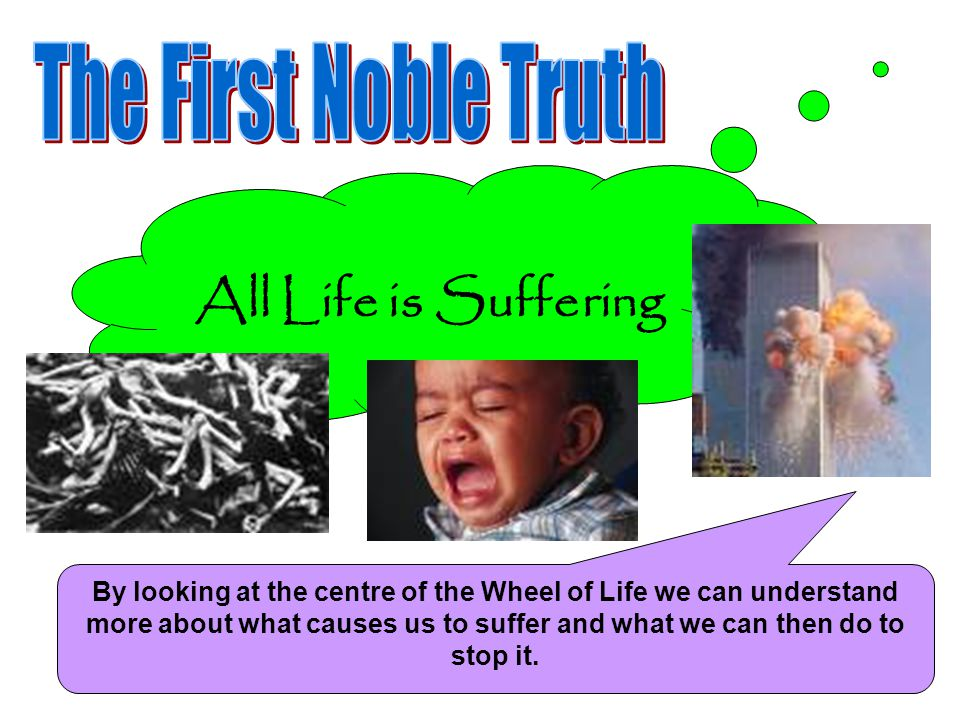 All Life is Suffering The First Noble Truth