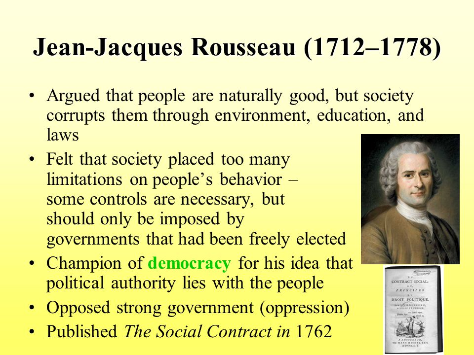 rousseau state of nature essay We will write a custom essay sample on any topic specifically for you for  when  rousseau talks about the state of nature, he is talking about.