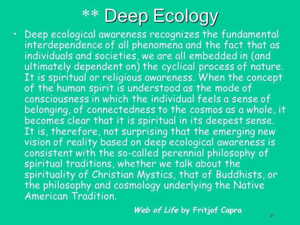 ** Deep Ecology