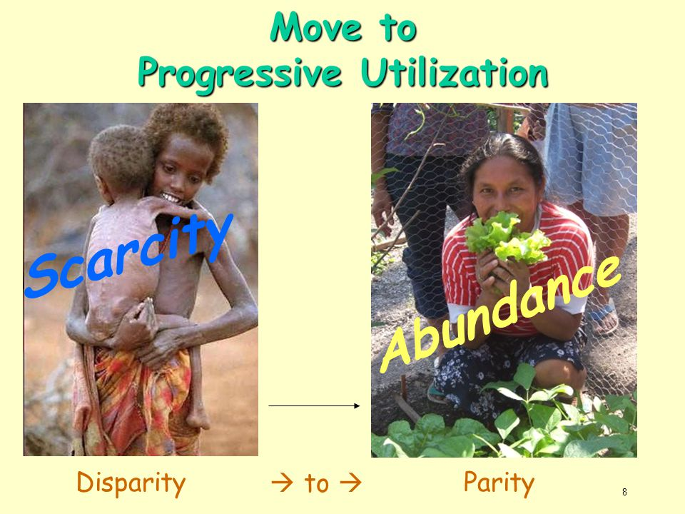Move to Progressive Utilization