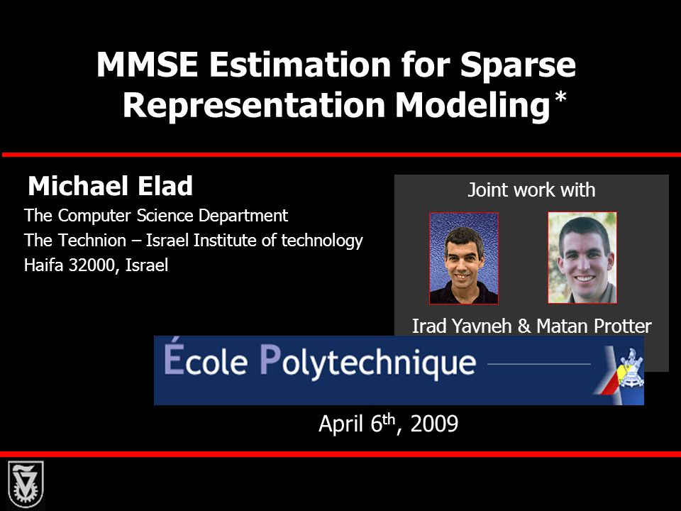 MMSE Estimation for Sparse Representation Modeling