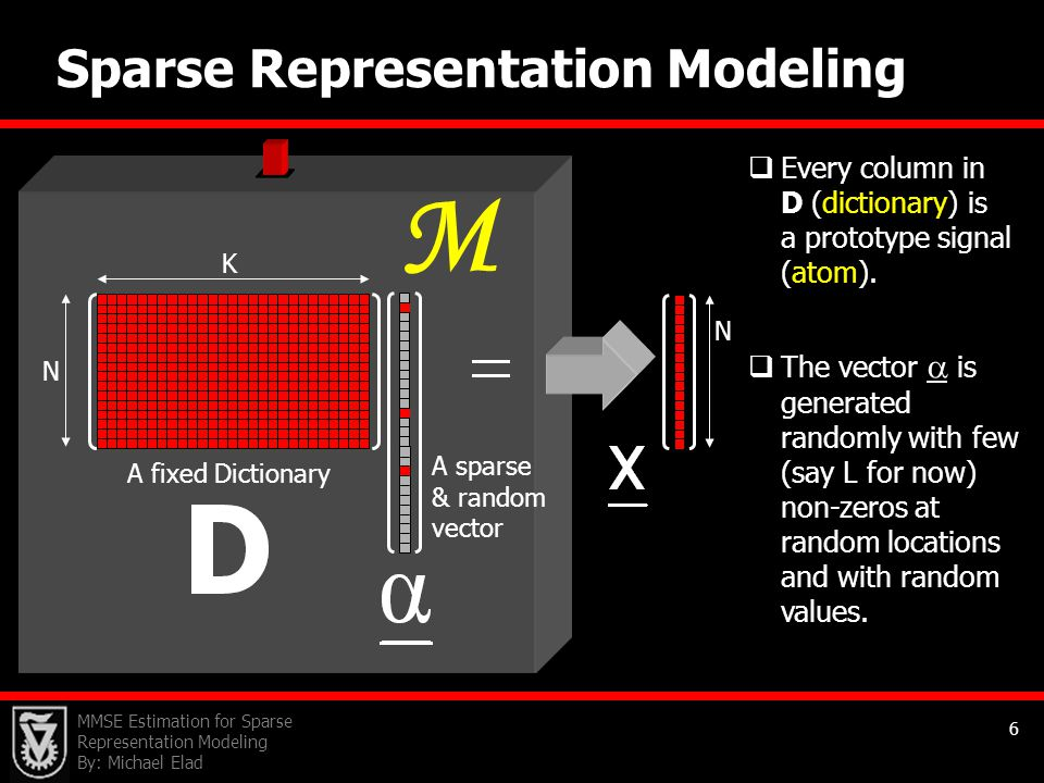 M Sparse Representation Modeling