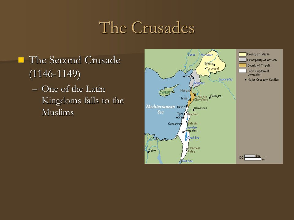 The Crusades The Second Crusade (1146-1149)