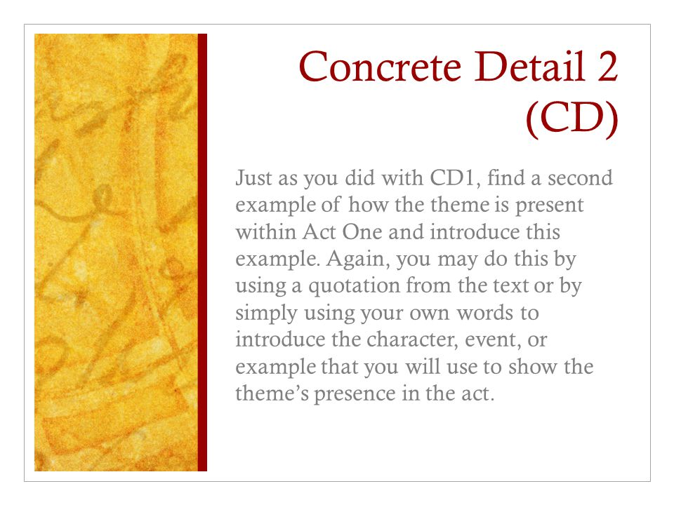 Concrete Detail 2 (CD)