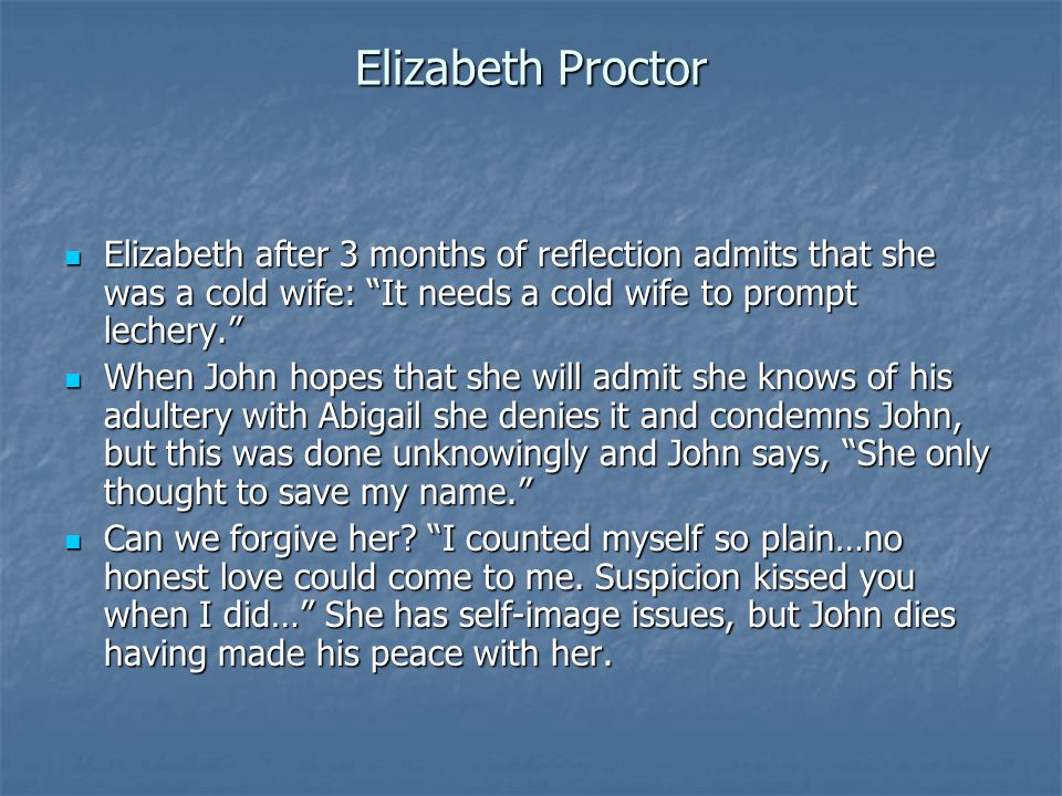 The Crucible John Proctor Essay