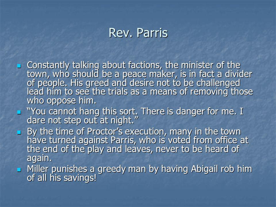Rev. Parris