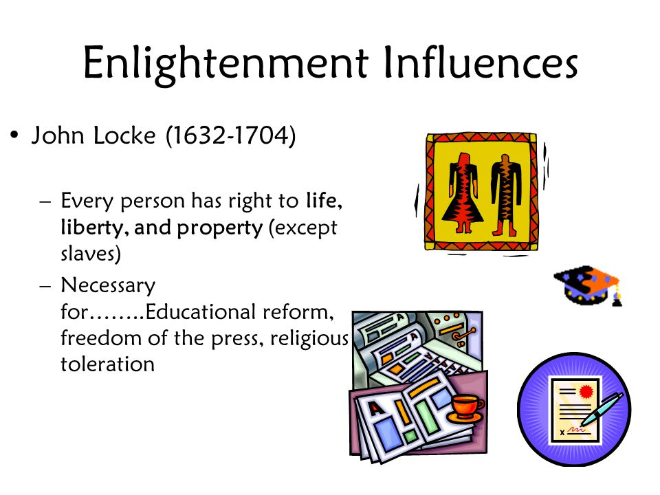 Enlightenment Influences