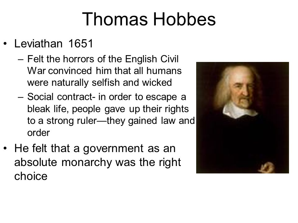 essay on john locke and hobbes Free essay: contrasting hobbes and locke nearly two-hundred and twenty-five  years ago the united states of america chose to fight a thomas hobbes.