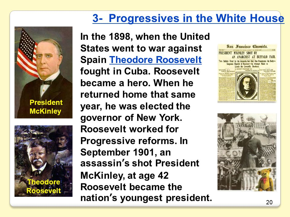 3- Progressives in the White House