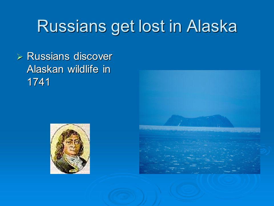 Russians get lost in Alaska