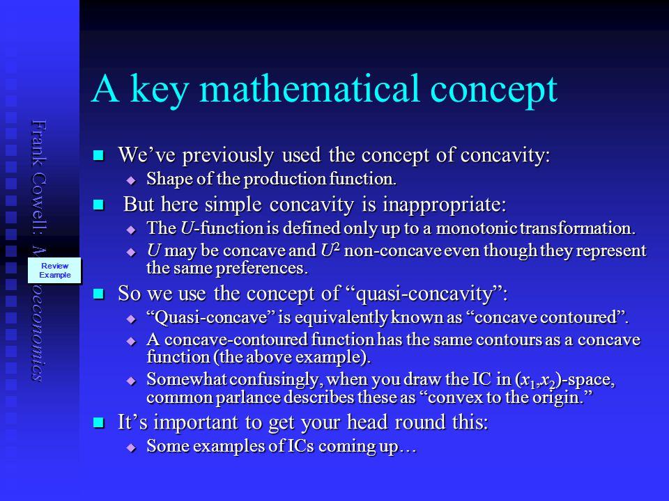 A key mathematical concept