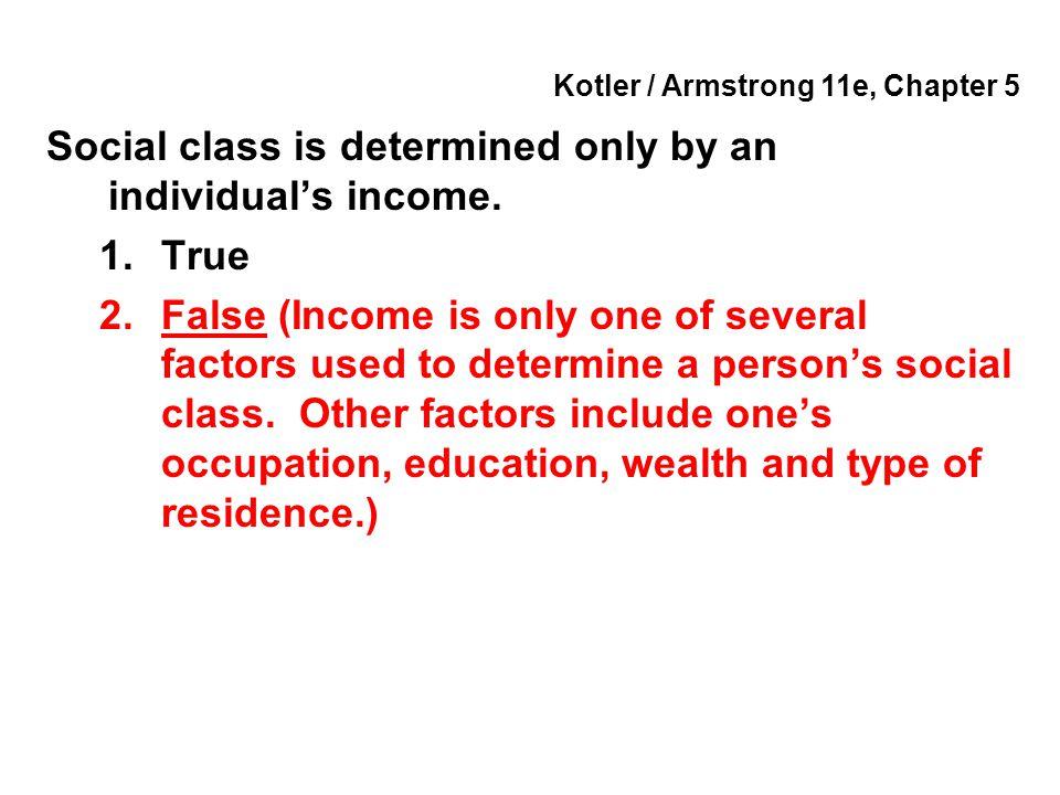 Kotler / Armstrong 11e, Chapter 5