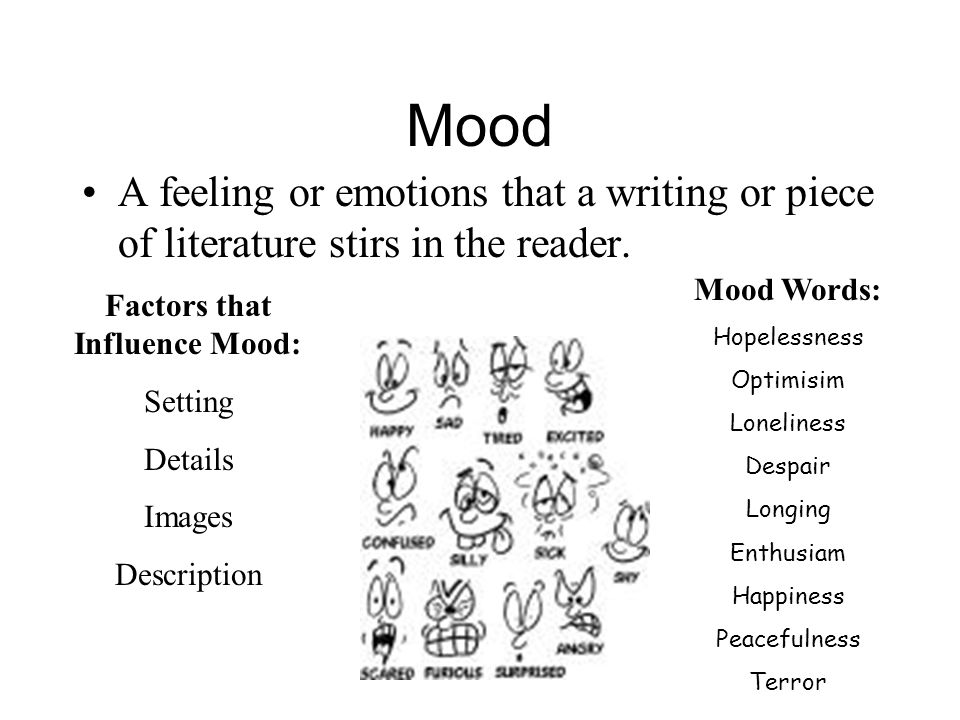 Factors that Influence Mood: