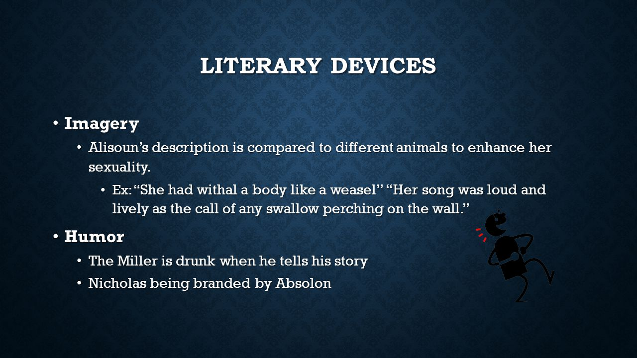 Literary Devices Imagery Humor