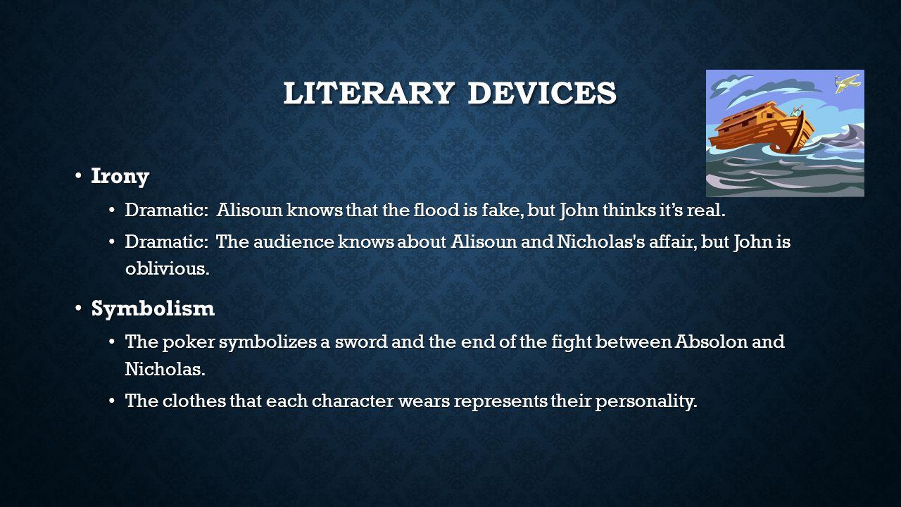 Literary Devices Irony Symbolism