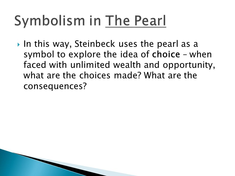 Symbolism in The Pearl