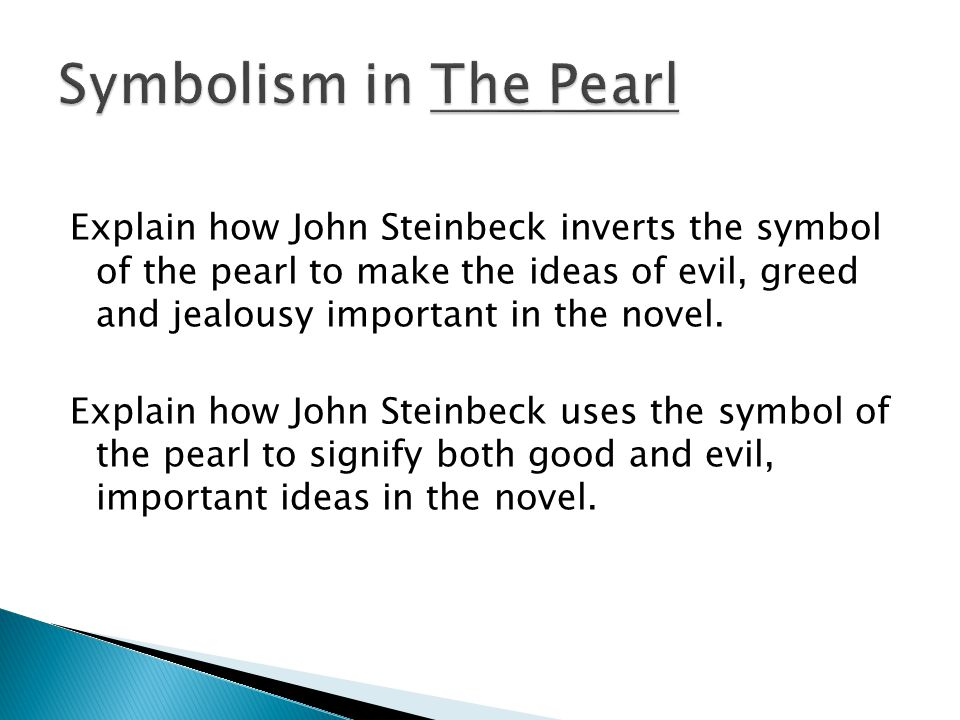 steinbeck the pearl essay Perfect for acing essays, tests, and quizzes, as well as for writing lesson plans sparknotes: the pearl: chapter 6, page 3 -  the pearl by john steinbeck full text pdf epub mobi download the pearl by john steinbeck full text pdf, epub, mobi books the pearl by john steinbeck full text pdf, epub, mobi.