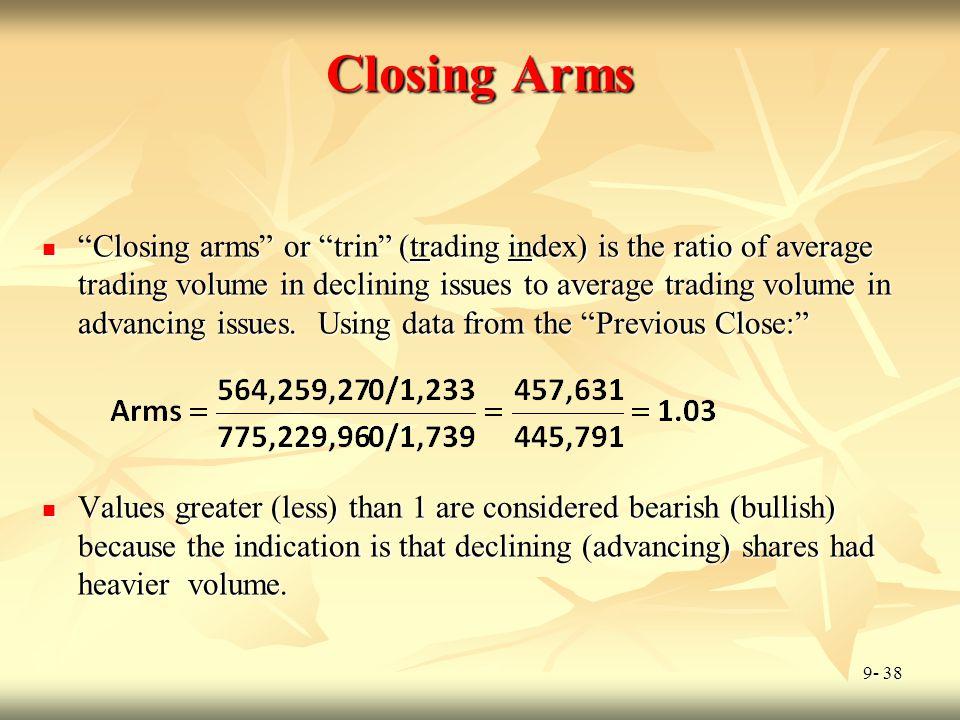 Closing Arms