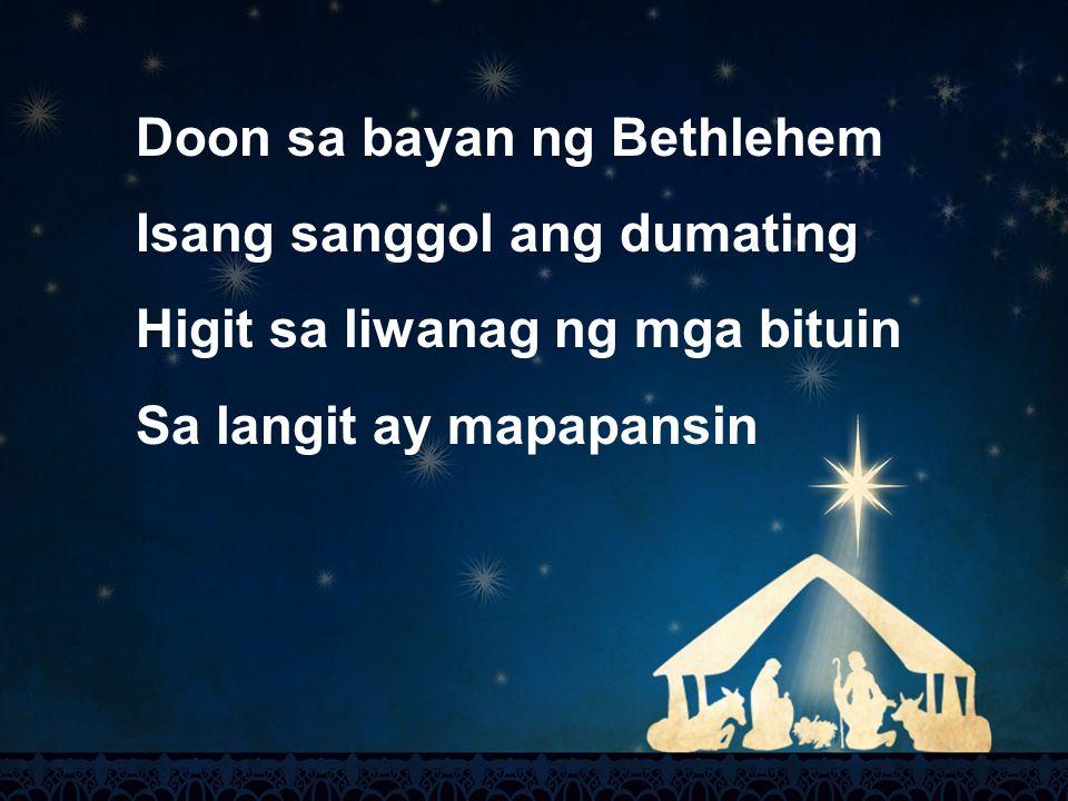 Doon sa bayan ng Bethlehem