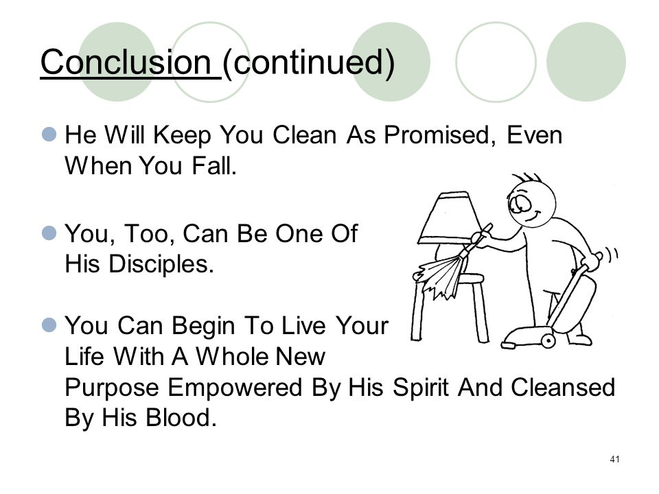 Conclusion (continued)