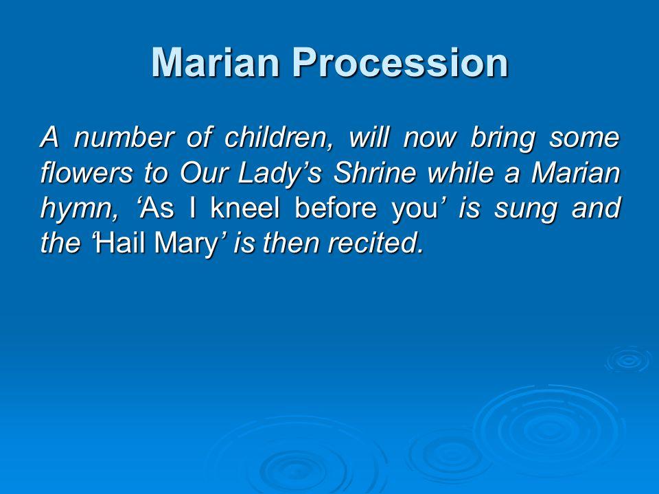 Marian Procession