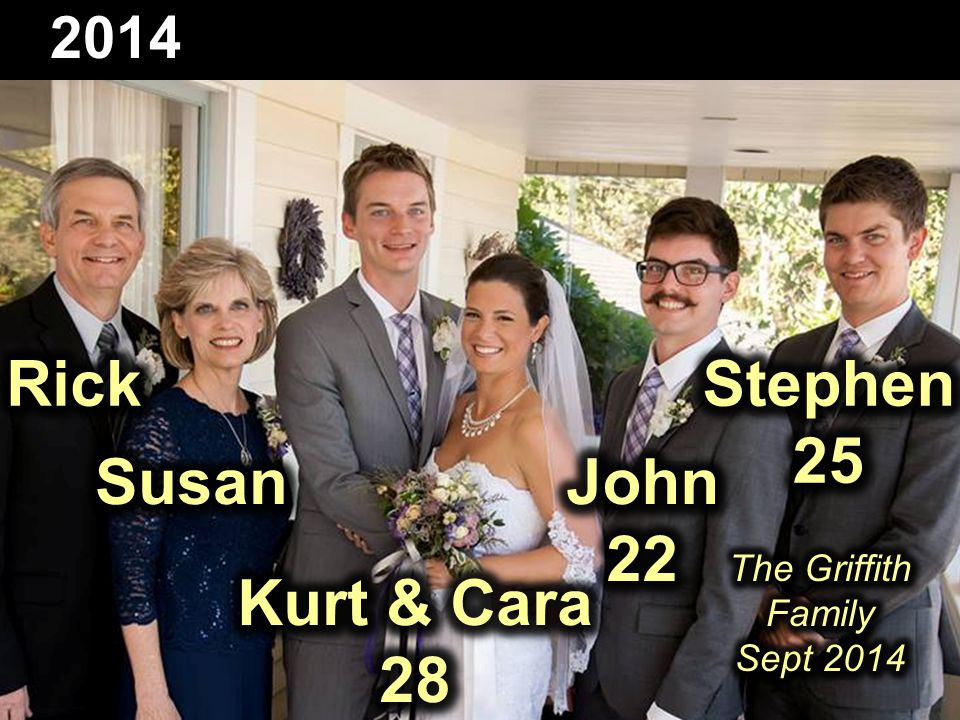 The Griffith Family Sept 2014