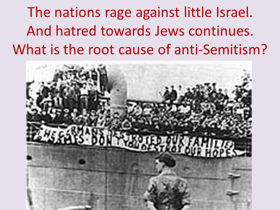 The nations rage against little Israel