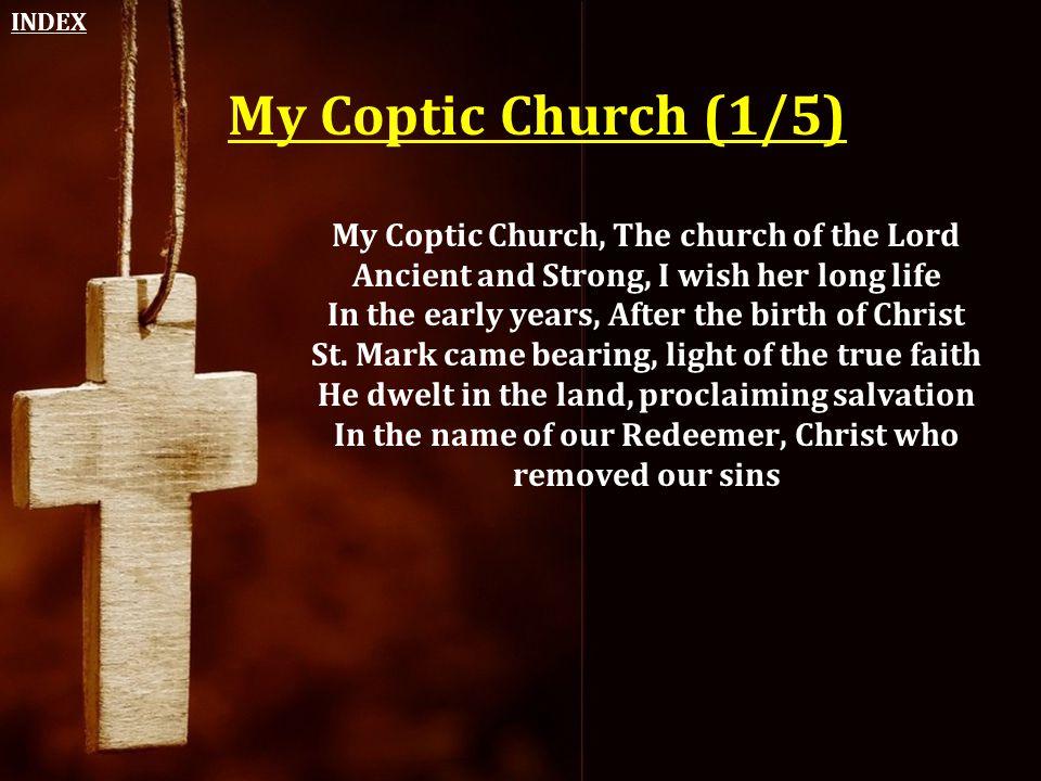 INDEX My Coptic Church (1/5)