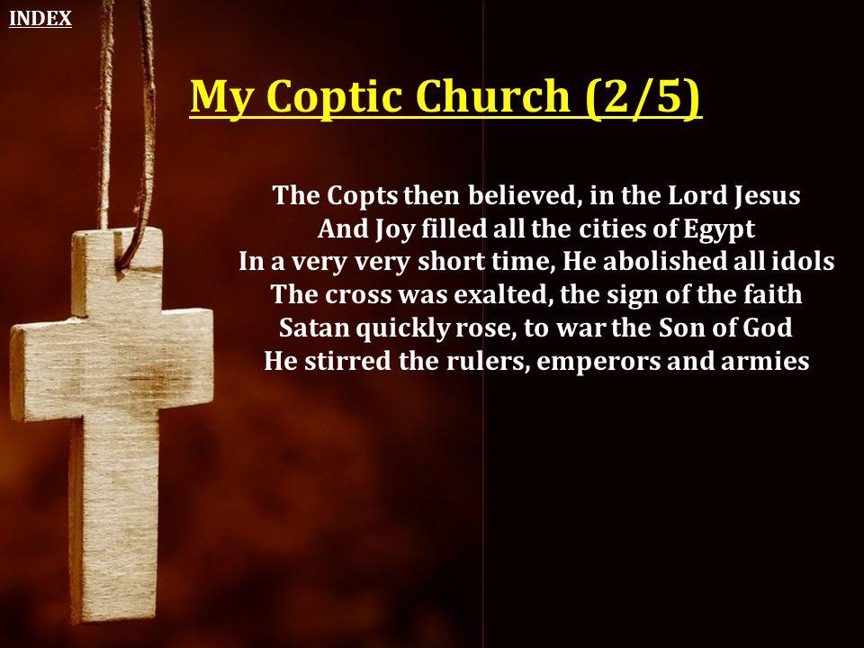 INDEX My Coptic Church (2/5)