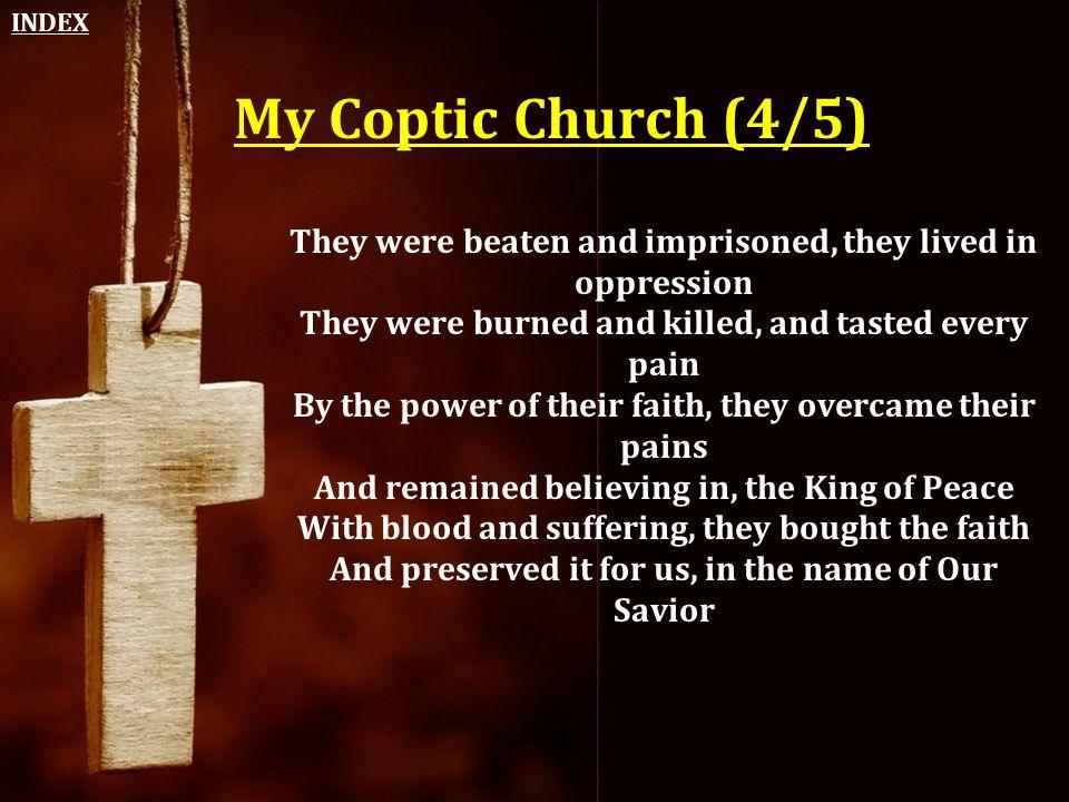 INDEX My Coptic Church (4/5)