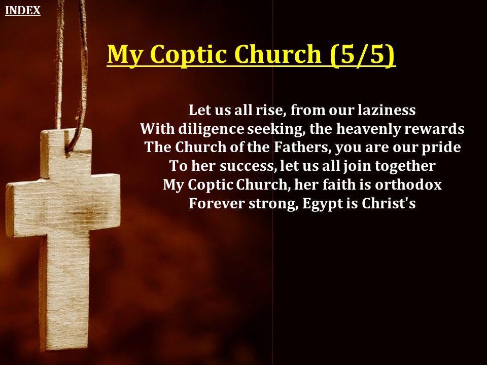 INDEX My Coptic Church (5/5)