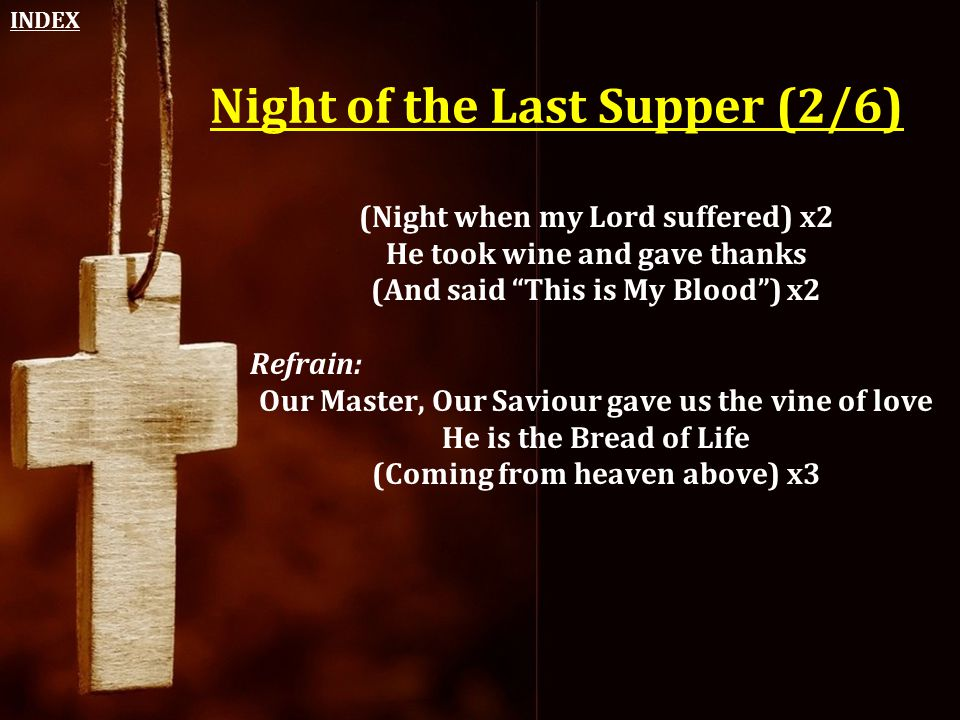 Night of the Last Supper (2/6)