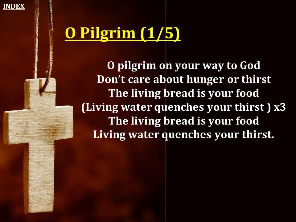 O Pilgrim (1/5) O pilgrim on your way to God