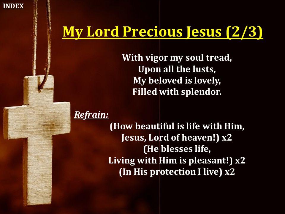 My Lord Precious Jesus (2/3)