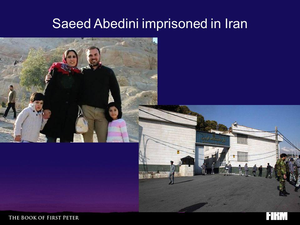 Saeed Abedini imprisoned in Iran