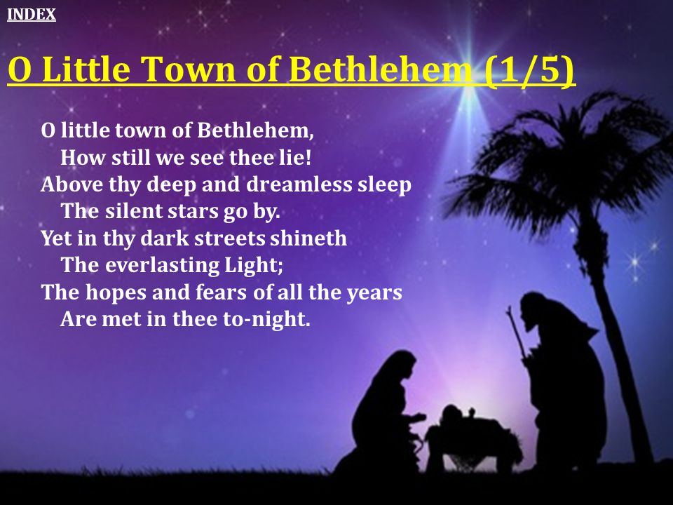 O Little Town of Bethlehem (1/5)