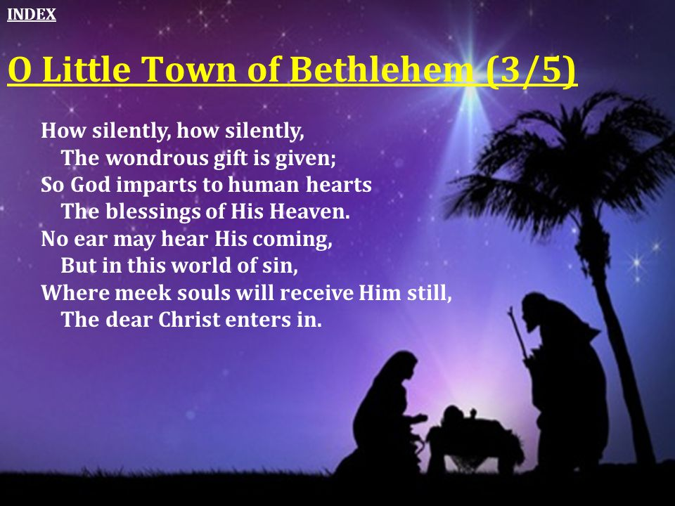 O Little Town of Bethlehem (3/5)