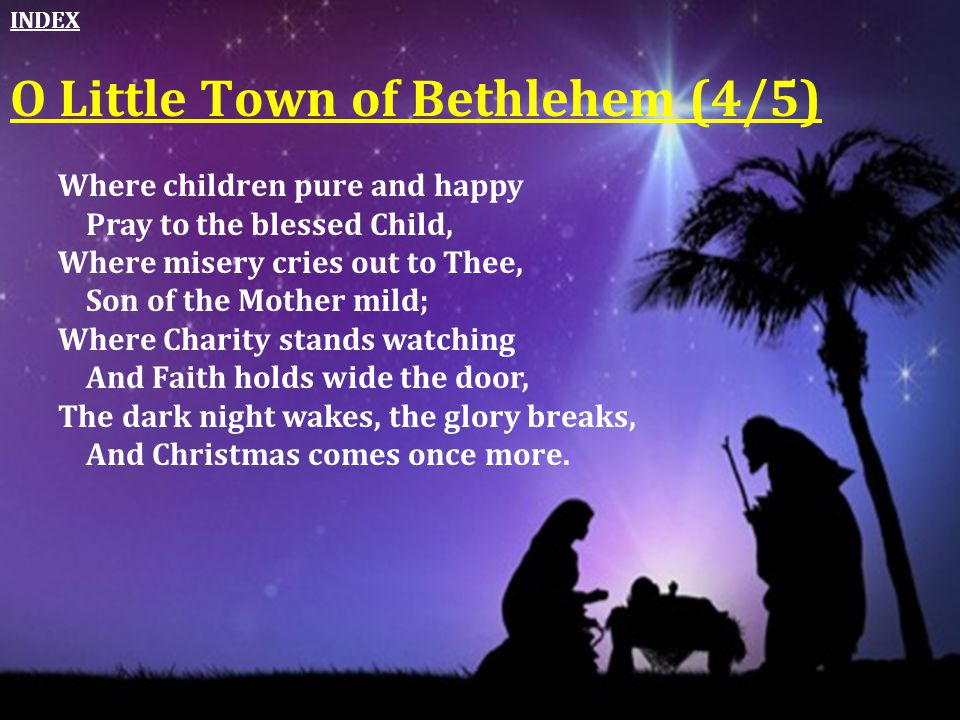 O Little Town of Bethlehem (4/5)