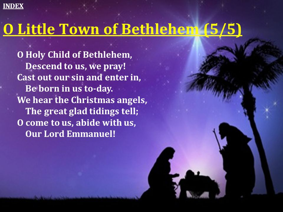 O Little Town of Bethlehem (5/5)