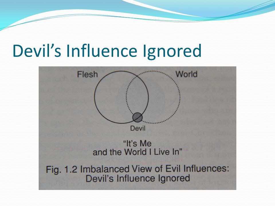 Devil's Influence Ignored
